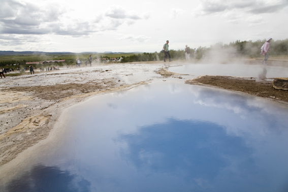 See the Amazing hotsprings in Haukadalur valley