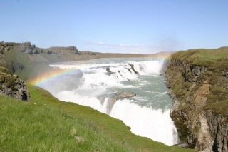 Gullfoss Waterfall is a Spectacular sight