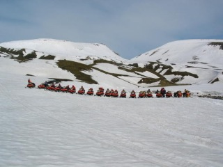 Activities on Mýrdalsjökull Glacier